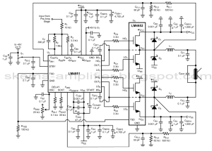 170w btl amplifier with lm4651  u0026 lm4652
