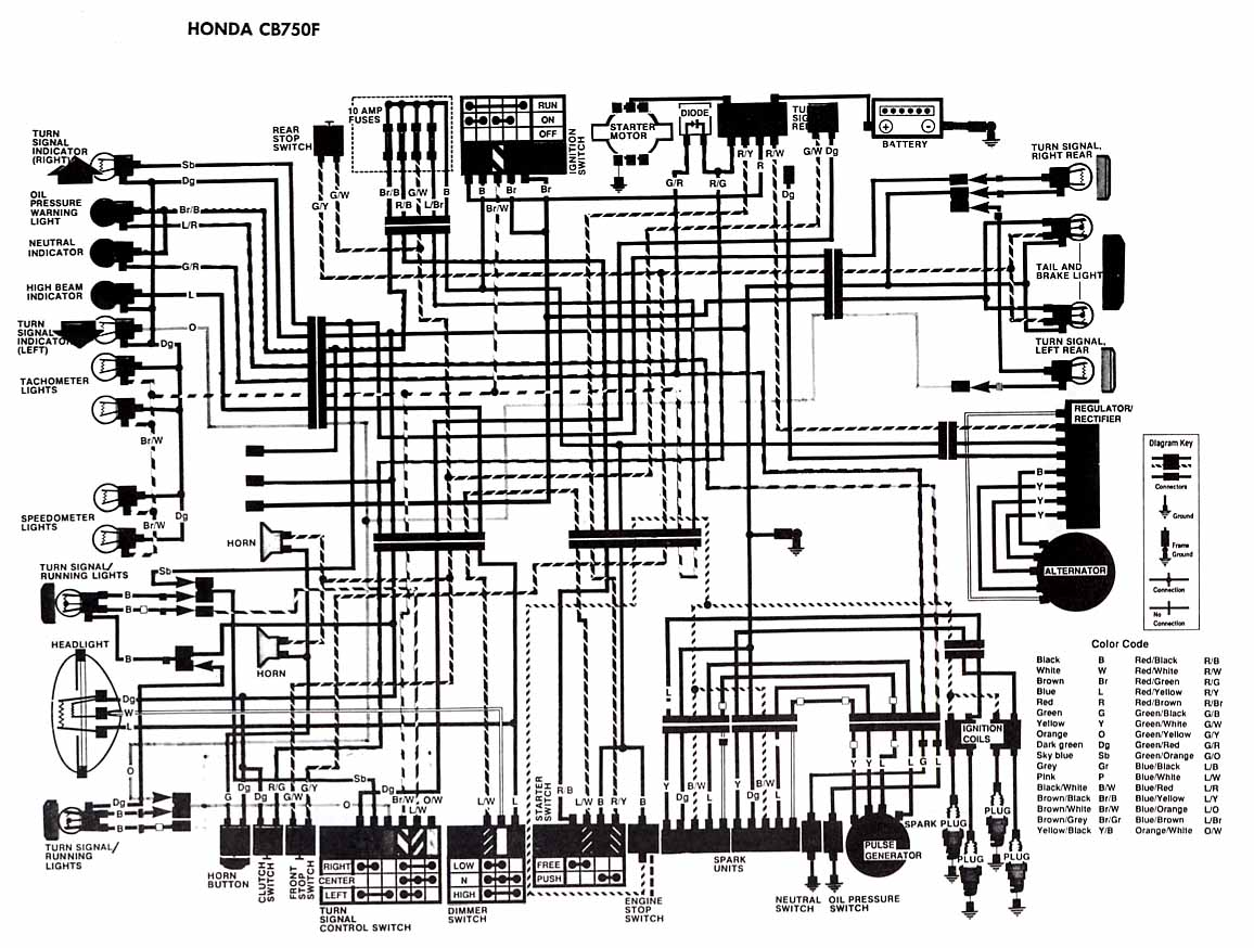 Honda Cb750 Wiring Schematic Another Blog About Diagram 1975 Elektro Fahriemjeblog Page 6 1980